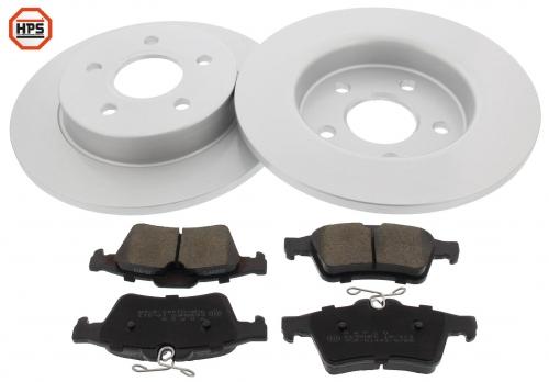 MAPCO 47664HPS brake kit
