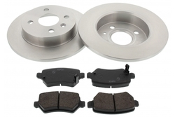 MAPCO 47691 brake kit