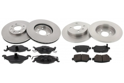 MAPCO 47754/1 brake kit
