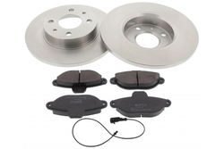 MAPCO 47011 brake kit