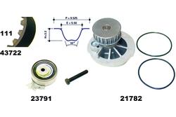 MAPCO 41722/1 Water Pump & Timing Belt Kit