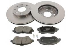 MAPCO 47672 brake kit