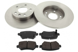 MAPCO 47679 brake kit