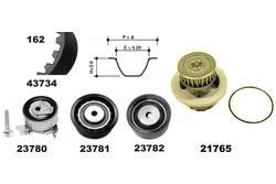 MAPCO 41739 Water Pump & Timing Belt Kit