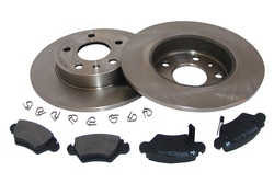 MAPCO 47678 brake kit