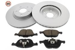 MAPCO 47688HPS brake kit