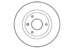 MAPCO 15422 Brake Disc