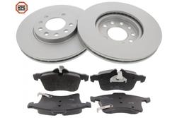 MAPCO 47912HPS brake kit