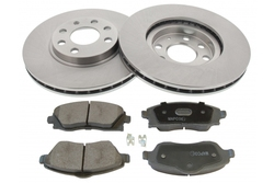MAPCO 47673 brake kit