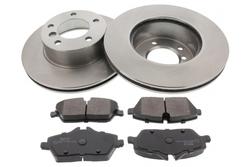 MAPCO 47889 brake kit