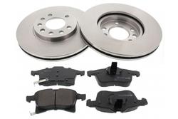 MAPCO 47912 brake kit