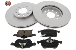 MAPCO 47671HPS brake kit